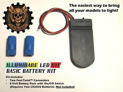 AU6.45 • Buy Illuminare Basic Battery Kit (6 Volt)- Stack Pack