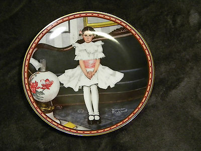 $ CDN21.15 • Buy 1986 Knowles - Norman Rockwell - Sitting Pretty - Collectible Plate