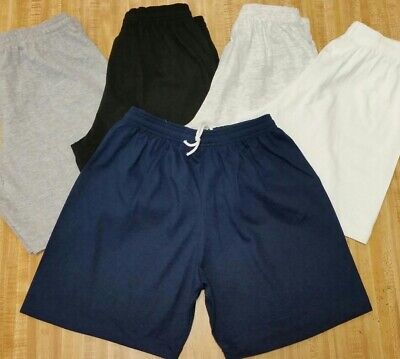 $8.45 • Buy 100% Cotton Shorts No Pockets W/ Drawstring. Young Adult Sizes Small To 4x