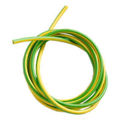 PVC Earth Sleeving. Green Yellow. 2mm 3mm 4mm 5mm 6mm.. Electrical Wire Cable. • 1.59£