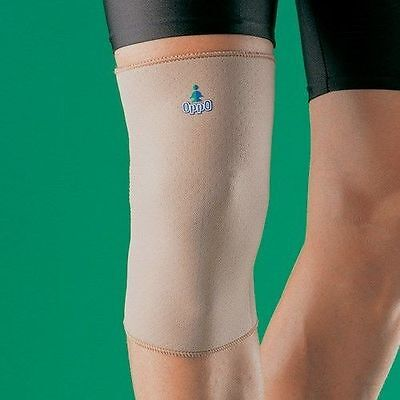 OPPO 1022 Closed Knee Support Brace Knee Pain Runners Knee Injury Support Sleeve • 12.49£