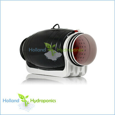 AU299.95 • Buy 6 INCH SILENT TWO SPEED DUCT FAN Hydroponics Grow Room Air Flow & Ventilation