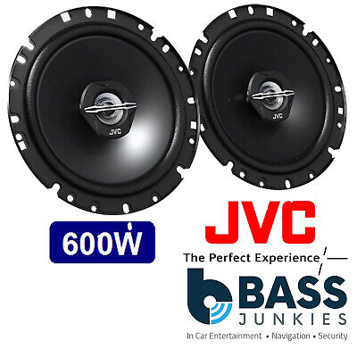 JVC 6.5  170MM 600 Watt Car 2 Way Coaxial Front Door Speakers For Toyota Avensis • 32.99£