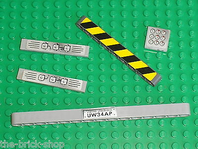 Autocollants LEGO TECHNIC Pieces With Stickers / Set 8285 Tow Truck  • 5.35£