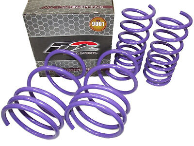 $149.88 • Buy D2 Racing Lowering Springs For 02-06 Nissan Altima & 04-08 Maxima [1.3 F/1.3 R]