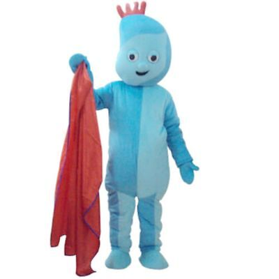 Fancytrader 2019 Iggle Piggle Mascot Costume Actual Pictures Halloween FT30019  • 115£