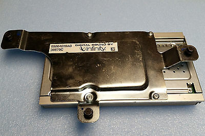 $78 • Buy Chrysler Pacifica Infinity Amplifier 05064618ab 2006
