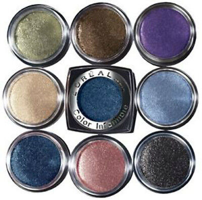 L'Oreal 24HR Color Infallible Eyeshadow Powder (3 PACK) [16 Shades Available] • 9.99£