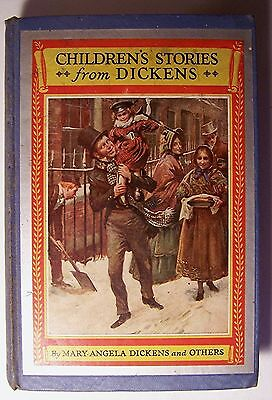 £10.75 • Buy CHILDREN'S STORIES FROM DICKENS Mary Angela Dickens ILLUS Harold Copping - E