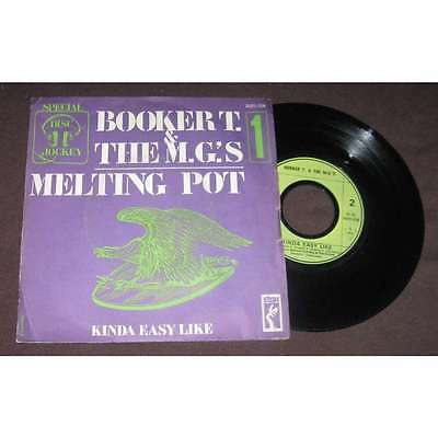 BOOKER T & The M.G.'S - Melting Pot French PS Funk Soul Special DJ 1 • 5.17£