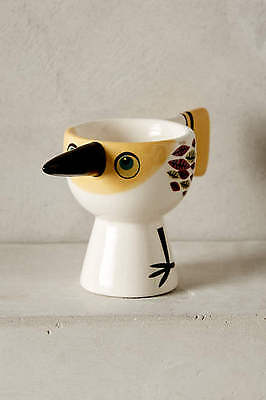 £21.23 • Buy 1 New Anthropologie Wonderful ~  Early Bird Egg Cup ~ Yellow - Sold Out!
