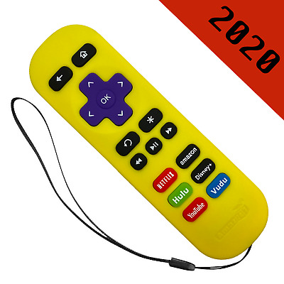AU13.17 • Buy Replacement Remote For ROKU 1/2/3/4 Express+/Premiere+/Ultra Yellow-6 Shortcut