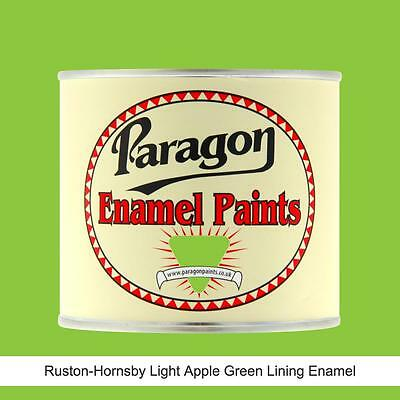 Paragon Paints Ruston Hornsby Light Apple Green Engine Lining Enamel Paint • 147.20£
