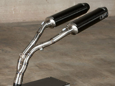 $769 • Buy M4 Exhaust Yamaha R1 04-06 Undertail Slip On Cat Eliminator With CARBON Mufflers