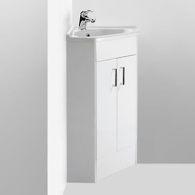 £120.95 • Buy Nuie Mayford Corner Vanity Unit With Basin 550mm Wide - 1 Tap Hole