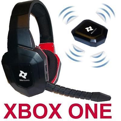 AU65 • Buy Wireless Gaming Stereo Headphones Microphone XBOX One Noise Reduction BRAND NEW