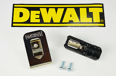 $10.95 • Buy  DeWalt Belt Hook & Bit Clip Holder Combo 20v Max  DCD771 DCD780 DCD980 DCD985