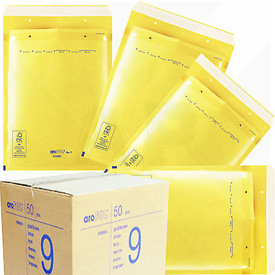 £25.36 • Buy Arofol Genuine Gold Bubble Padded Envelopes Mailers Bags *all Sizes / Qty's*