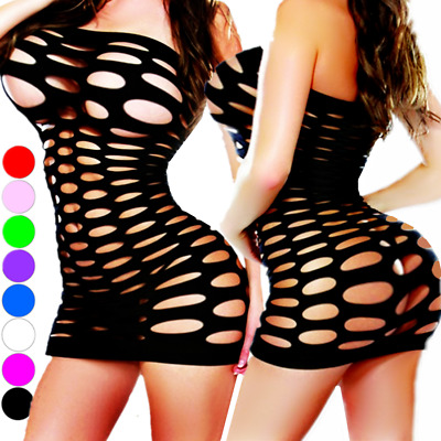 $7.43 • Buy Bodystocking Women Sleepwear Nightwear Bodysuit Nightwear Robe Stocking Lingerie
