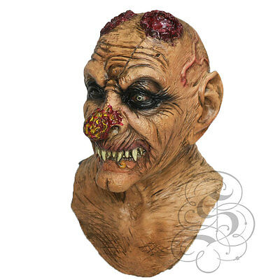 Halloween Latex Evil Goblin With Chest Horror Dress Up Costume Party Props Masks • 26.99£