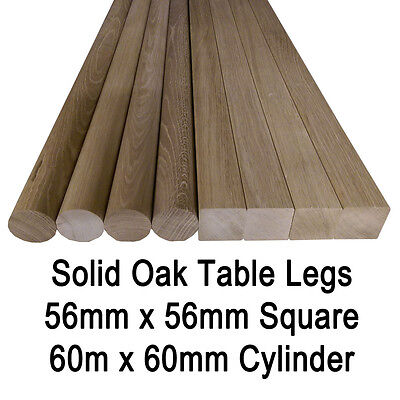 £37.95 • Buy Solid Euro Oak Breakfast Bar/ Worktop/ Table Support Leg With Mounting Plate