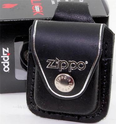 $16.95 • Buy Zippo Black Leather Lighter Pouch/Case/Holder Belt Loop Sheath Made In U.S.A.