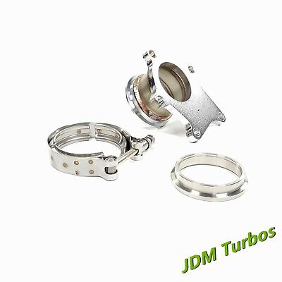 $ CDN87.07 • Buy T3 T3/T4 5 Bolt Turbo Exhaust Downpipe Flange To 3  V Band Conversion Adaptor