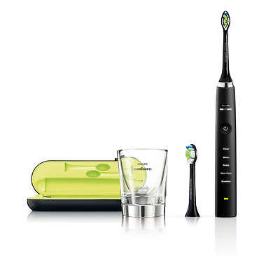 AU369.99 • Buy Philips Sonicare Diamond Clean Black HX9352/04 Electric Toothbrush + FREE Bonus
