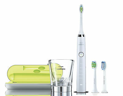 AU369.99 • Buy Philips Sonicare Diamond Clean White HX9332/04 Electric Toothbrush + FREE Bonus