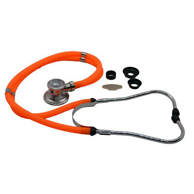 Doctors Sprague Rappaport Stethoscope  Cardiology + Respiratory Orange Tube • 9.90£