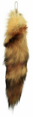 $7.99 • Buy AuSable™ Fur Red Fox Tail With Key Chain Attached
