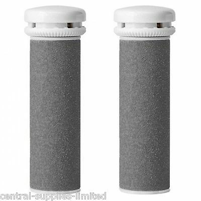 2 X Emjoi Micro Mineral Compatible Pedi Extreme Replacement Rollers • 2.49£