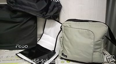 NEW Hauck I'COO Official Baby Nappy Changing Bag D-Pac Diaper+Mat In Icoo Green • 9.99£