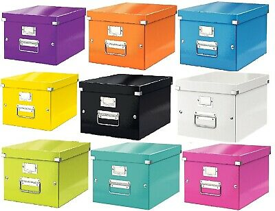 Leitz Click & Store A4 Storage Transportation Strong File Box Paper Office Home  • 13.29£