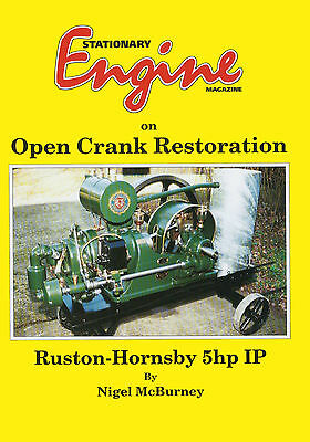 Stationary Engine Magazine On  Open Crank Restoration  - Ruston Hornsby 5hp Book • 18.45£