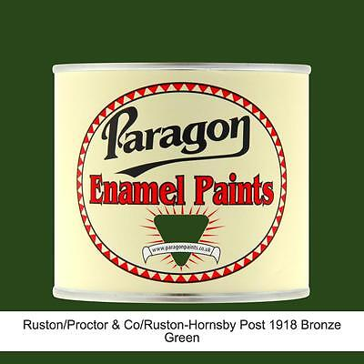 Paragon Paints Ruston Hornsby Bronze Green High Temp Engine Enamel Paint • 147.20£