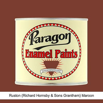 Paragon Paints Ruston Hornsby Bullock Maroon High Temp Engine Enamel Paint • 147.20£