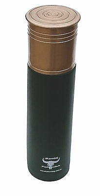 AU22.05 • Buy Shotgun Shell 12G 500ml Stainless Steel Vacuum Flask Thermos By Maverick Hunting