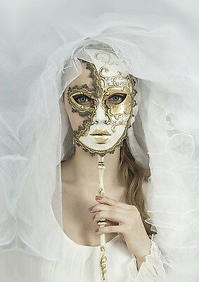 £29.99 • Buy Stunning Masquerade Ball Party Mask Canvas Picture #39 Wall Hanging Art A1