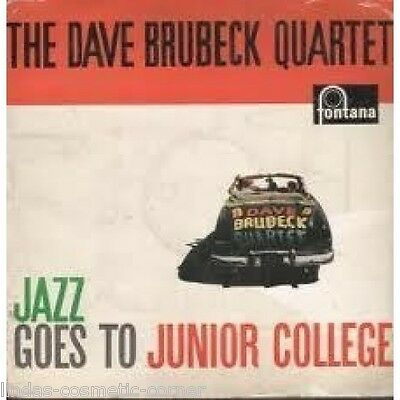 THE DAVE BRUBECK QUARTET JAZZ GOES TO JUNIOR COLLEGE VINYL LP ( Released 1957 ) • 5£