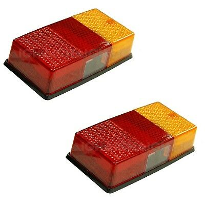 AU61.50 • Buy LED Trailer Lamp Combination 12v 13 Stop/Tail 10 Indicator 1 Licence Plate PAIR