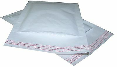 £18.95 • Buy Padded Bubble Lined Envelopes / Bags - White Mailers - All Sizes & Amounts