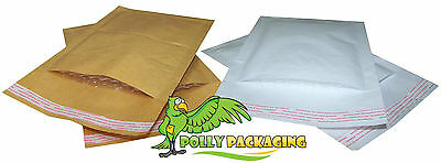 £15.95 • Buy Padded Bubble Lined Envelopes / Bags / Mailers - White & Gold - All Sizes