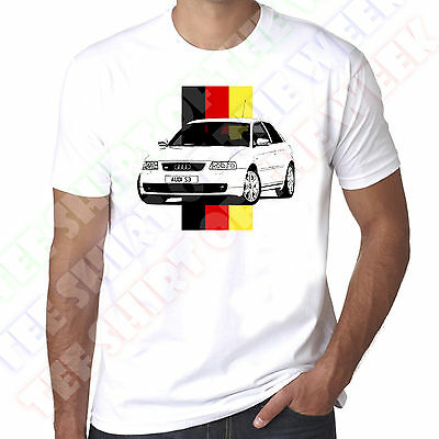 Personalised Number Plate Option Mk1 A3 S3 Mens 100% Cotton T-shirt  • 11.99£