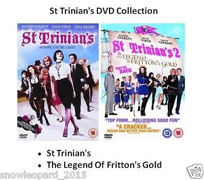 ST TRINIANS DOUBLE PACK DVD PART 1 And 2 Movie Film Brand New Sealed UK Release • 11.99£
