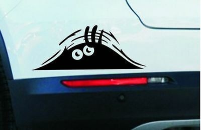 AU2.93 • Buy Funny Peeking Monster Cute Eyes For Jdm Car Bumper Window Vinyl Decal Sticker