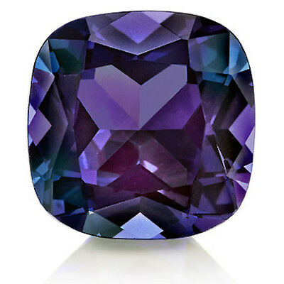 AU45.53 • Buy Lab-Created Pulled Alexandrite True Color Change Cushion Loose Stone (3x3-25x25)