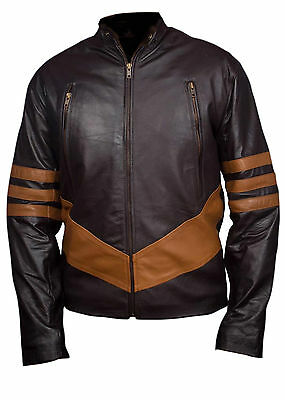 X-Men Wolverine Logans XO Real / Synthetic Leather Jacket • 65.99£