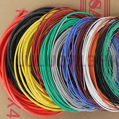 £2.95 • Buy 26 AWG Flexible Soft Silicone Wire RC Electronic Cable UL Resistant High Temp