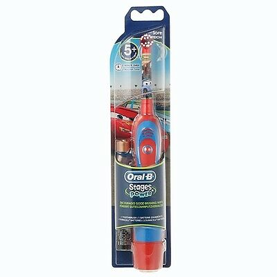 AU38 • Buy Braun Oral-B Kids Stages Power Battery Toothbrush Disney Cars DB4510K